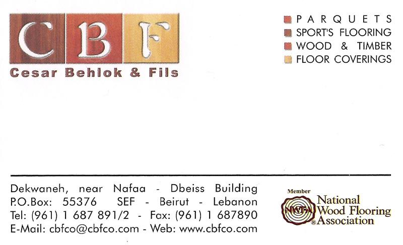 Cbfco, Parquet In Lebanon, Parquet Company Lebanon -4886